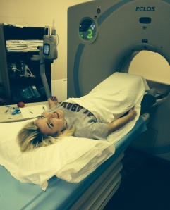 Tabbie Survivor MRI Photo 050215