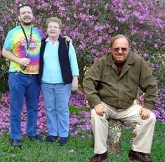 Marleen Salo with her son, Marty Salo (TBI Survivor) and her husband, Al Salo.