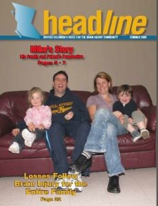 Coss, Michael Survivor Family Photo Magazine COver