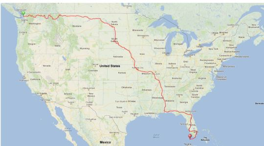 Here's what 5,200 miles looks like.