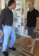Allan Bateman & TBI Survivor, David Figurski - sometimes Allan even came to our home