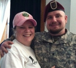 Kristina Hopkins - Caregiver Tom Hopkins- TBI Survivor