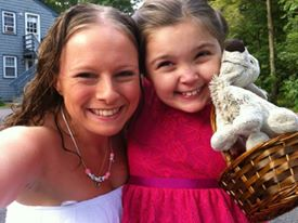 Kristin Olliney with Isabella 2014
