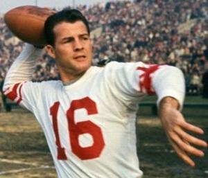 Frank Gifford football