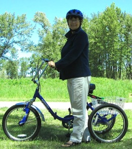 Deb Angus - Brain Injury Survivor and her Trike