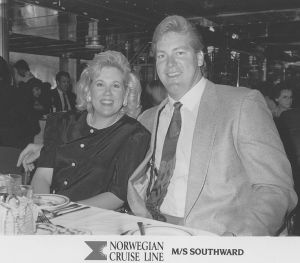 Cyndy Davy Feasel and spouse, Grant Feasel former Seattle Seahawk