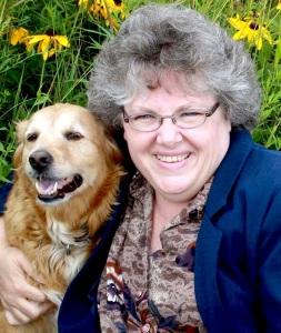 Pamela Ann Taylor & dog