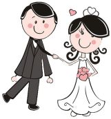 bride-and-groom-clipart-14